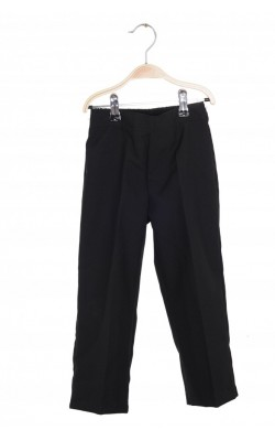 Pantaloni stofa neagra, 5 ani Regular