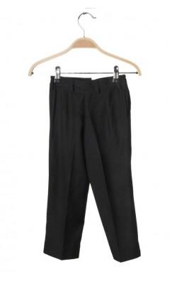 Pantaloni stofa neagra Marco, 3-4 ani