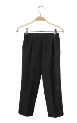 Pantaloni stofa neagra Marco, 4 ani