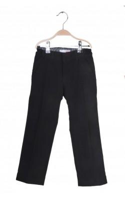 Pantaloni stofa neagra Name It, talie ajustabila, 4-5 ani