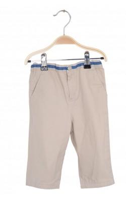 Pantaloni bej din bumbac Talbots, 18 luni