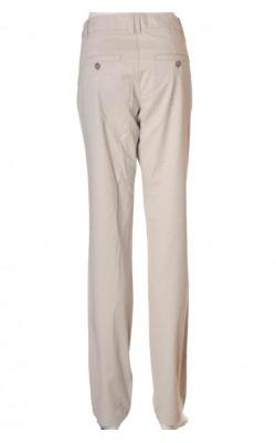 Pantaloni tigareta bej H&M L.o.g.g., marime 36