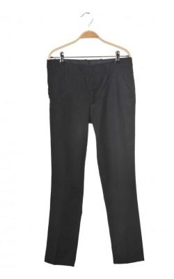 Pantaloni tigareta fetite H&M, talie ajustabila, 12-13 ani