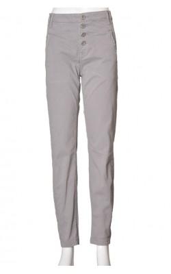 Pantaloni-tigareta Lindex, culoare gri, marime 38
