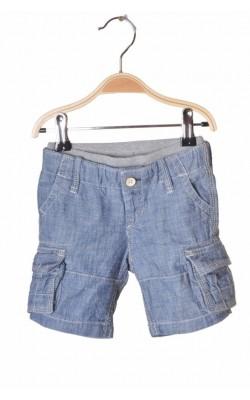 Pantaloni trei sferturi Gap, bumbac, 6-12 luni