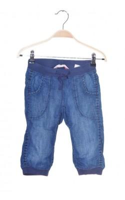 Pantaloni trei sferturi H&M, denim subtire, 6-7 ani