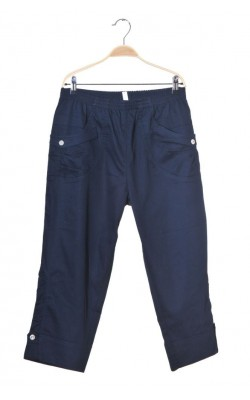 Pantaloni trei sferturi Soyaconcept, bleumarin, marime 44