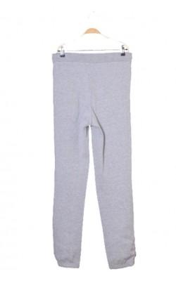 Pantaloni trening gri, molton calduros, marime M