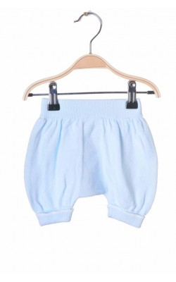 Pantaloni tricot fin din bumbac, 0-1 luni