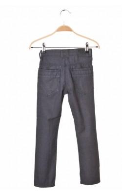 Pantaloni twill slim Okaidi, talie ajustabila, 6 ani