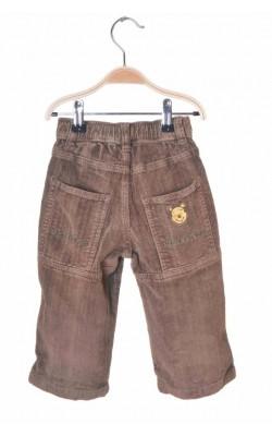 Pantaloni velur H&M, imprimeu Winnie, 12-18 luni
