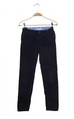 Pantaloni velur H&M, talie ajustabila, 8-9 ani