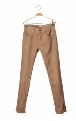 Pantaloni velur Zara, talie ajustabila, 11-12 ani