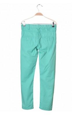 Pantaloni verzi Cubus, talie ajustabila, 10 ani