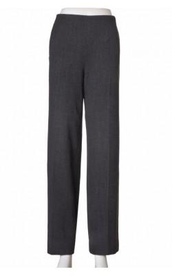 Pantaloni wide leg Max Mara, lana virgina, marime 42