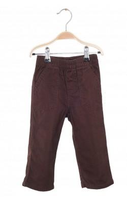 Pantaloni maro din bumbac Wonder Kids, 18 luni