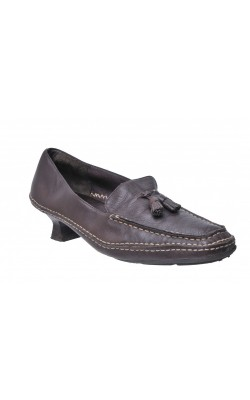 Pantofi maro din piele naturala Aerosoles, marime 41