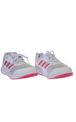 Pantofi alb cu roz Adidas Adiwear, foarte usori, marime 41