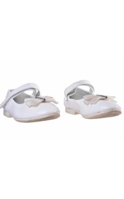 Pantofi albi lac Apawa, marime 29