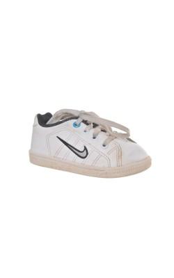 Pantofi albi Nike, marime 21