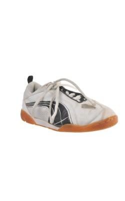 Pantofi albi sport Puma, marime 34
