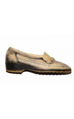 Pantofi Ara Mokassin, piele naturala, marime 37.5, calapod lat