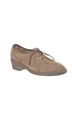 Pantofi Ara, piele intoarsa, interior polar, marime 37 calapod lat