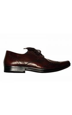 Pantofi Asos, piele naturala, marime 44