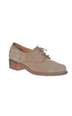 Pantofi Bally, piele intoarsa, marime 38