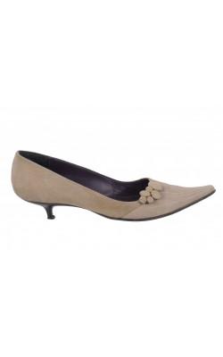 Pantofi BDK, piele intoarsa, marime 39