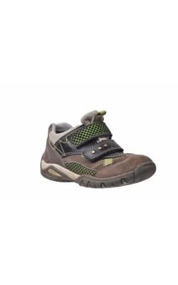 Pantofi bej cu fistic Superfit Gore-Tex, piele, marime 27