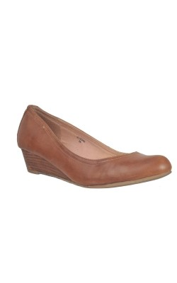 Pantofi bej piele Esprit, marime 38