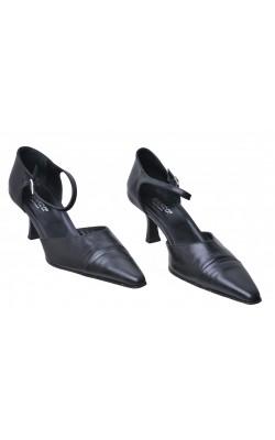 Pantofi negri Bianco, piele naturala, marime 41