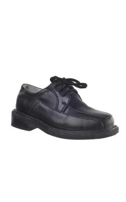 Pantofi negri scoala Bobb, marime 28