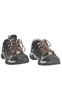 Pantofi Chameleon, piele si textil, marime 37