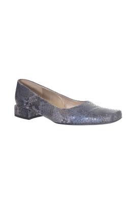 Pantofi Charles Jourdan, piele de sarpe, marime 38.5