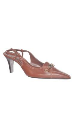Pantofi cognac Circa Joan&David, piele, marime 40