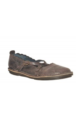 Pantofi comozi Cable, piele naturala, marime 38
