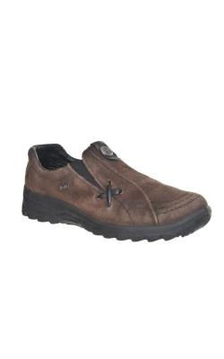 Pantofi comozi din piele Rieker, marime 37