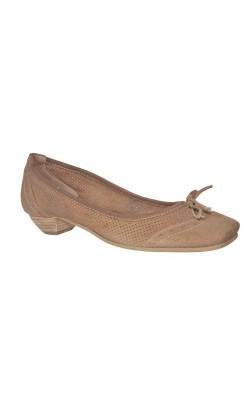 Pantofi comozi L'Idea, piele naturala, marime 39