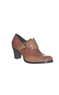 Pantofi comozi Tamaris, piele naturala, marime 37