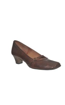 Pantofi comozi Tamaris, piele naturala, marime 38
