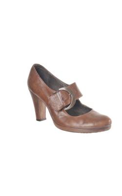 Pantofi comozi Virus Moda, piele natural, marime 38.5