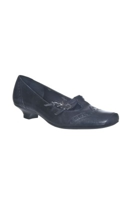 Pantofi cu barete Tamaris, piele naturala, marime 37