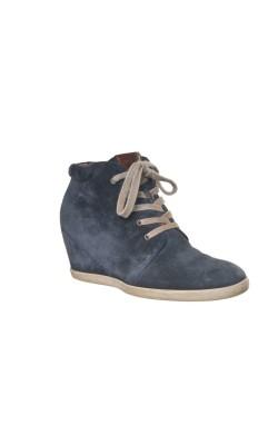 Pantofi cu platforma Paul Greene, piele, marime 38.5