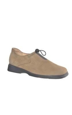 Pantofi dama 41 Hartjes, piele intoarsa