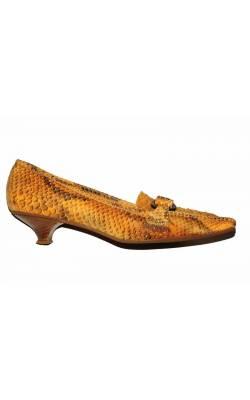 Pantofi Dei Mille, piele naturala de sarpe, marime 39