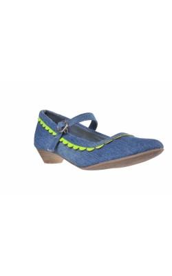 Pantofi denim Graceland, marime 33