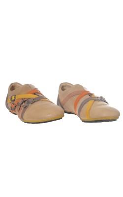 Pantofi din piele Kickers, marime 39