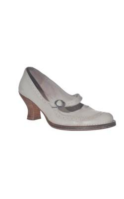 Pantofi din piele naturala Art, marime 38.5